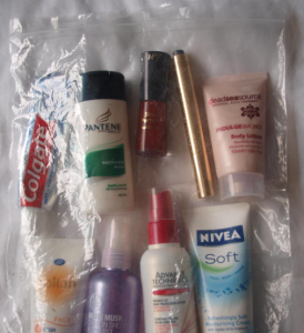 vloeistoffen in handbagage